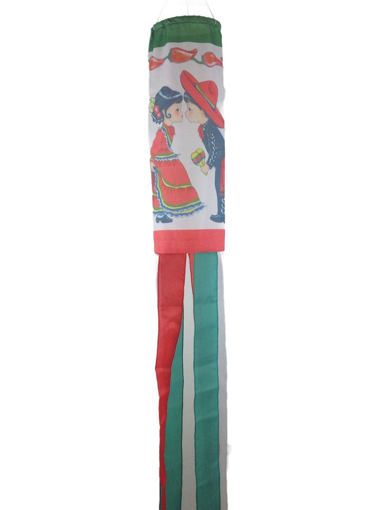 Mexico Wind Sock - Below $10, Collectibles, Hanging Decorations, Home & Garden, Mexican, Windsock