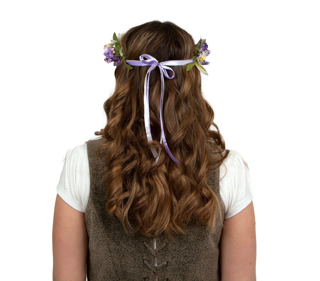 Oktoberfest Garland Mountain Edelweiss - Edelweiss, Garlands, German, Hats, Hats-Headband, New Products, NP Upload, Under $10, Yr-2016 - 2 - 3