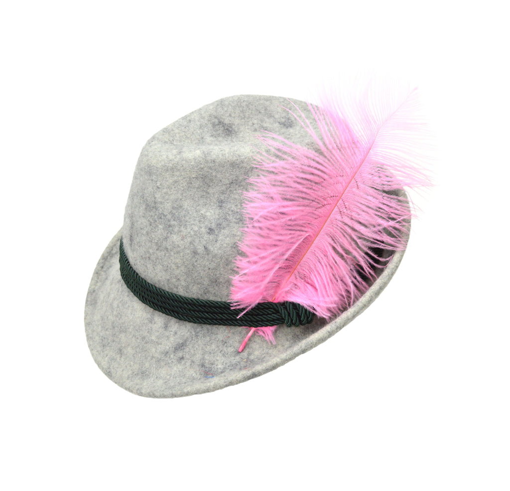Decorative Pink Hat Feather for Festival Hats - CT-540, German, Hat Pins, Hats, Hats-Accessories, Hats-Feathers, New Products, NP Upload, Under $10, Yr-2016 - 2