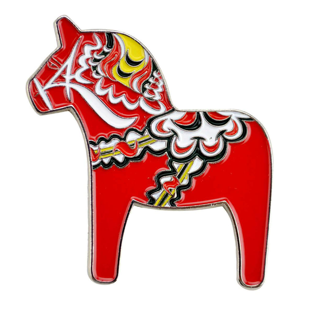 HP621: HAT PIN: DALA HORSE