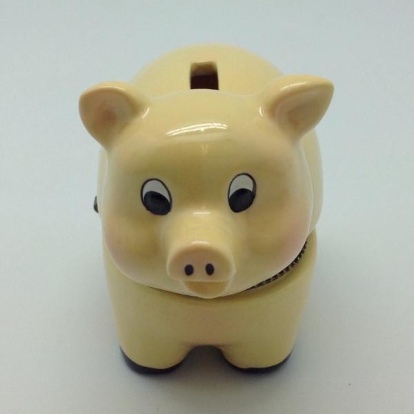 Children's Piggy Bank Jewelry Boxes - AN: Pigs, Animal, Collectibles, Figurines, General Gift, Hinge Boxes, Hinge Boxes-General, Home & Garden, Jewelry Holders, Kids, Nursery Rhyme, Toys - 2 - 3