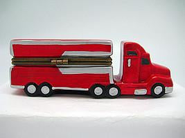 Semi Truck Jewelry Boxes - Collectibles, Figurines, General Gift, Hinge Boxes, Hinge Boxes-General, Home & Garden, Jewelry Holders, Kids, PS-Party Favors, Toys - 2 - 3 - 4