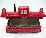 Collectible Caboose Hinge Box - Collectibles, Figurines, General Gift, Hinge Boxes, Hinge Boxes-General, Home & Garden, Jewelry Holders, Kids, PS-Party Favors, Top-GNRL-B, Toys - 2