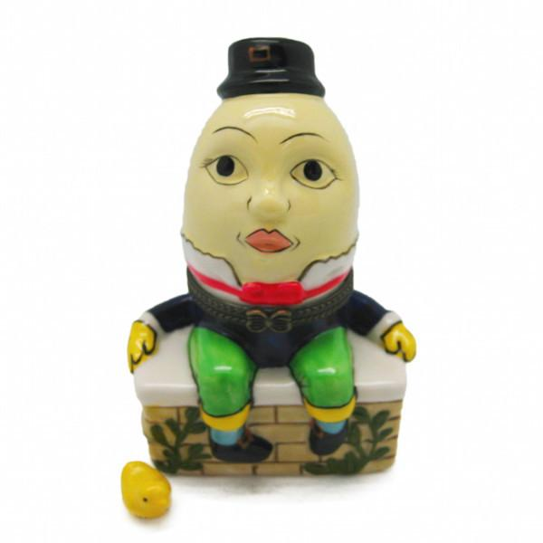 Children's Humpty Dumpty Jewelry Boxes - Collectibles, Figurines, General Gift, Hinge Boxes, Hinge Boxes-General, Home & Garden, Jewelry Holders, Nursery Rhyme, Toys