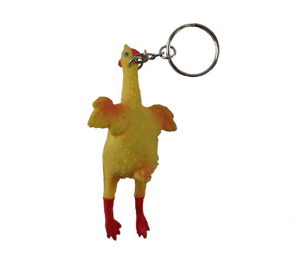 Chicken Pop Out Egg Keychain - Apparel & Accessories, Chicken Dance, Collectibles, CT-550, German, Germany, Key Chains, Key Chains-German, PS- Oktoberfest Party Favors, PS-Party Favors, Top-GRMN-B, Toys - 2