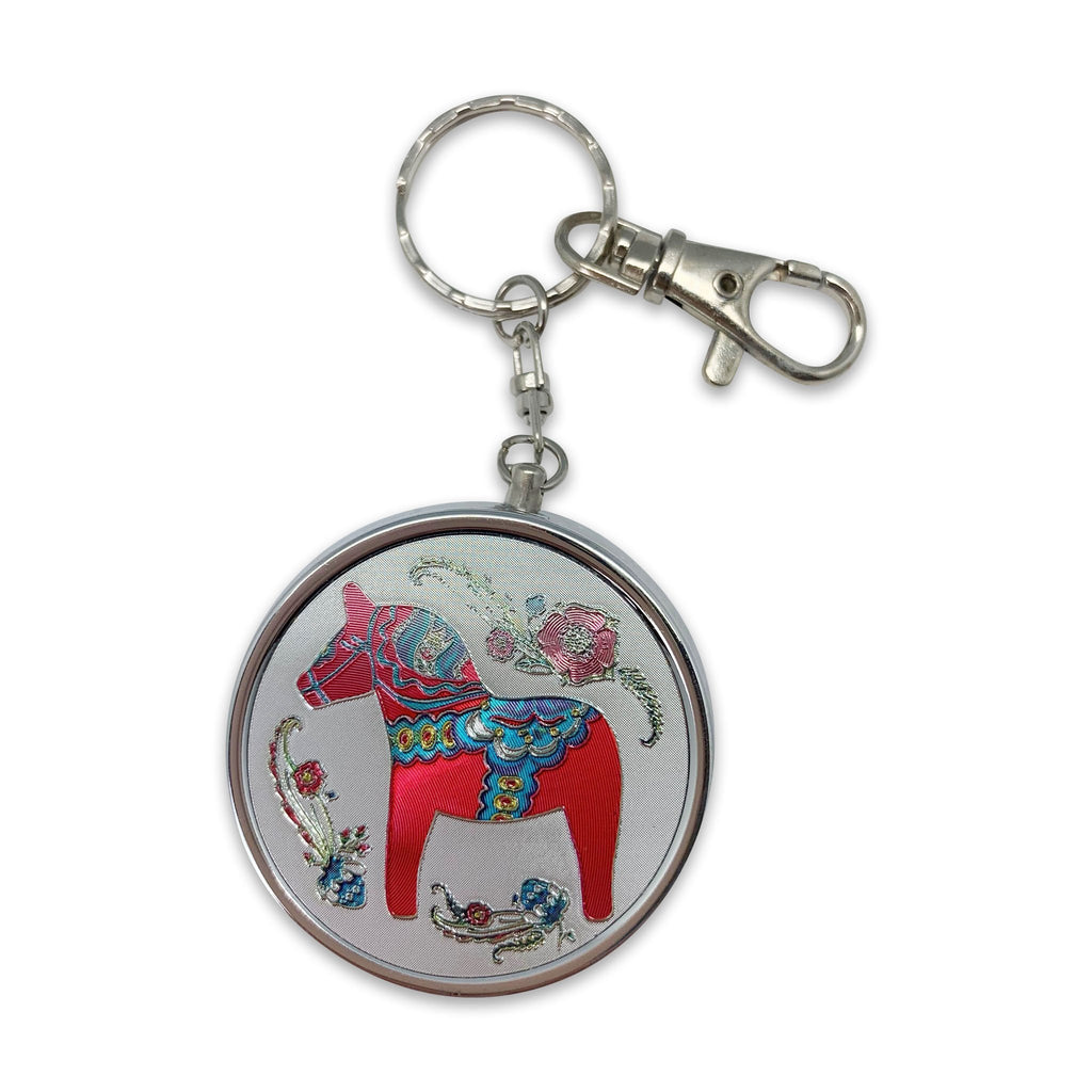 KEYCHAIN PILLBOX: RED DALA HO