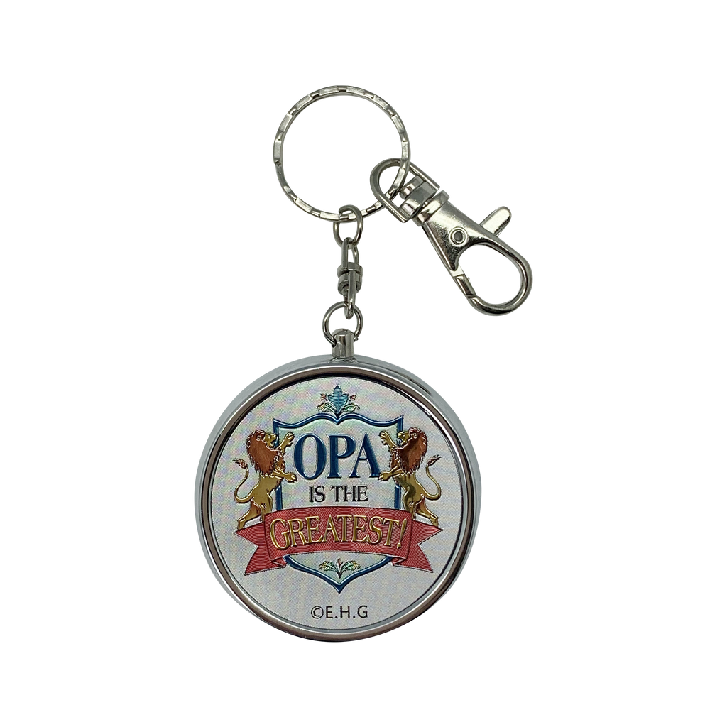 KEYCHAIN PILLBOX: OPA GREATES