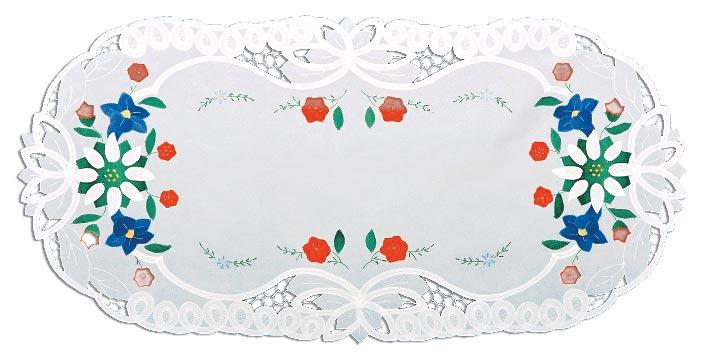 Lace Edelweiss Placemat Applique German