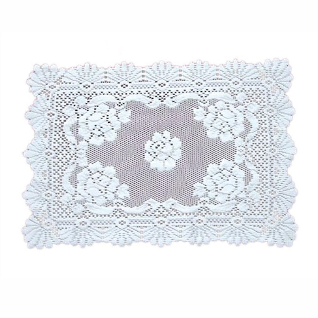 L5120: ALPINE ROSE/WHITEPLACEMAT