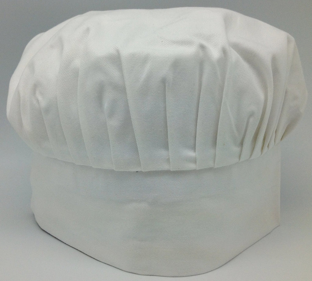 Chefs Hat White with no design - Apparel-Chef's Hat, Apparel-Costumes, Apparel-Kitchenware, General Gift - 2