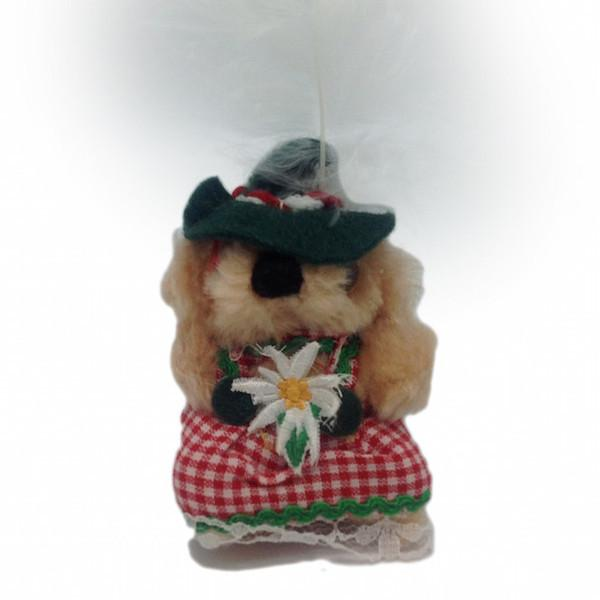 German Teddy Bear Magnet Gift&Girl - Collectibles, CT-520, Ethnic Dolls, German, Germany, Home & Garden, Kitchen Magnets, Magnets-German, Magnets-Refrigerator, PS-Party Favors, PS-Party Favors German, Teddy Bears