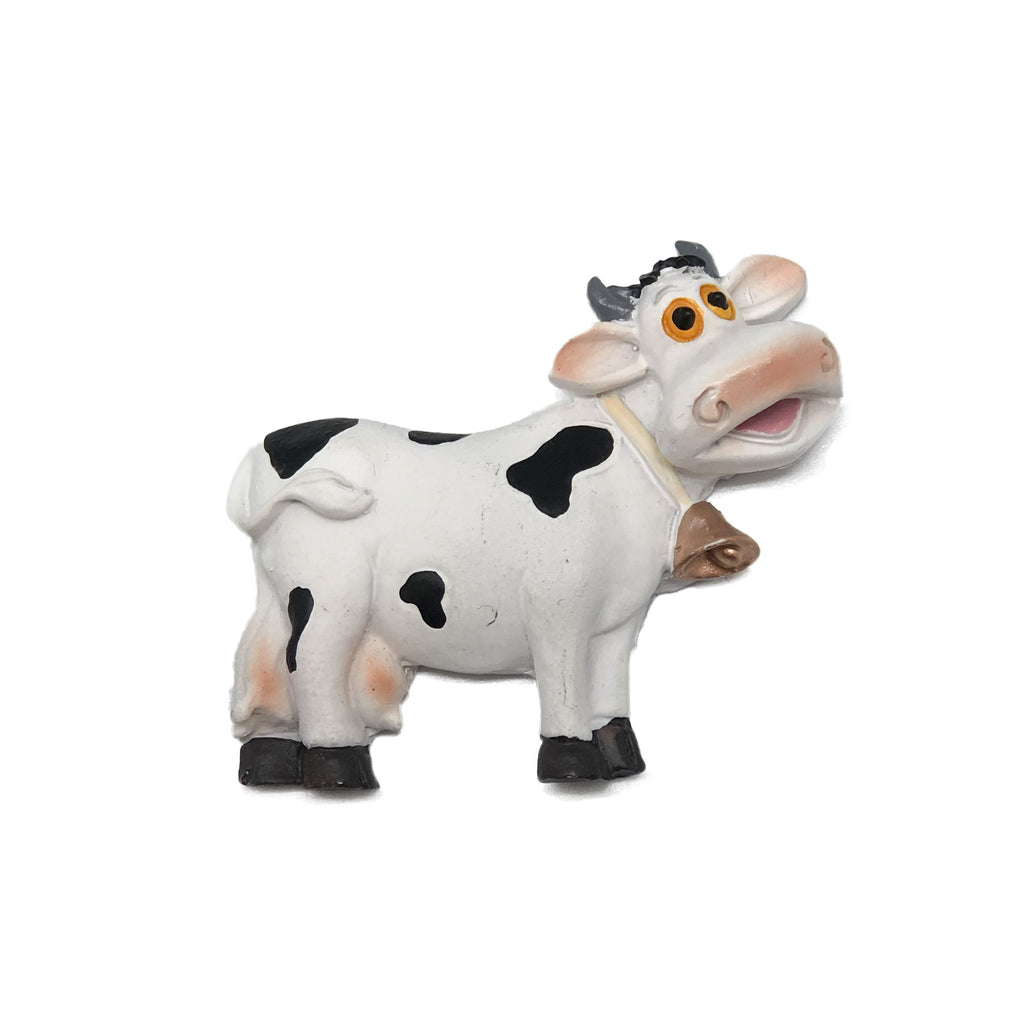 Novelty Cow Magnet made of Poly Resin -1