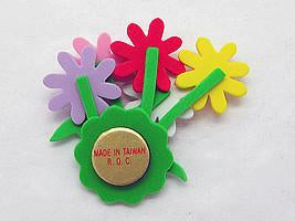 German Gift Refrigerator Magnet Daisy Flower Bouquet - Collectibles, Dutch, German, Germany, Home & Garden, Kitchen Magnets, Magnets-German, Magnets-Refrigerator, PS-Party Favors, PS-Party Favors Dutch, Tulips - 2