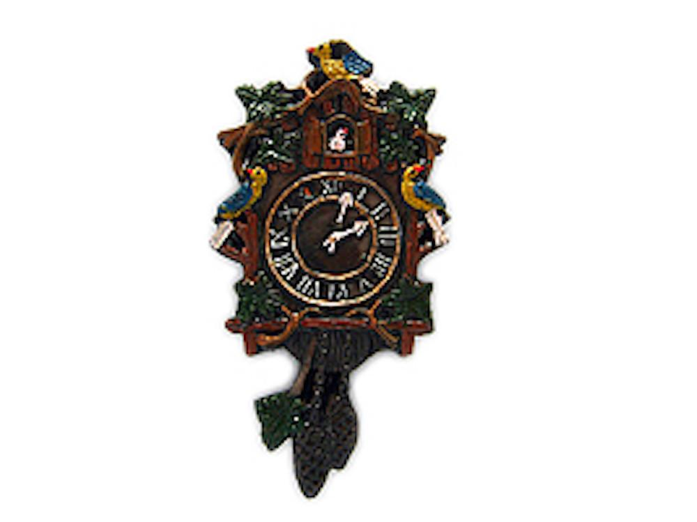 German Cuckoo Clock Refrigerator Magnet Gift Idea - Collectibles, CT-520, CT-525, German, Germany, Home & Garden, Kitchen Magnets, Magnets-German, Magnets-Refrigerator, Poly Resin, PS-Party Favors, PS-Party Favors German