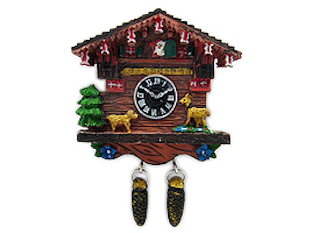 Magnetic Resin Cuckoo Clock -