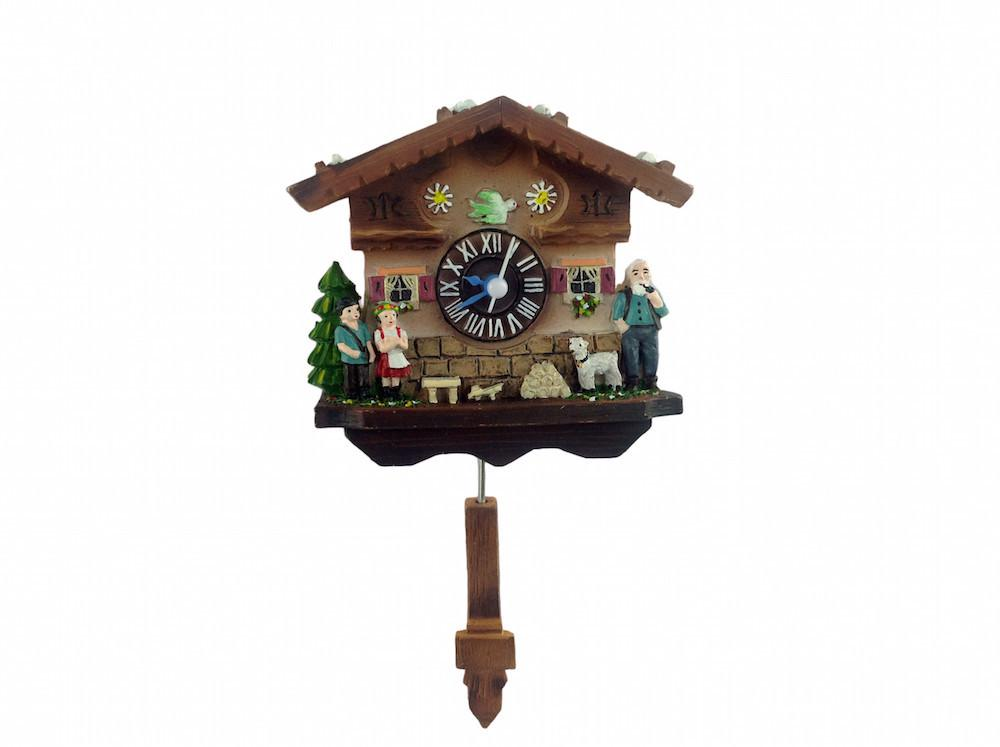 Refrigerator Magnet Heidi Swing - Clocks, Collectibles, CT-520, CT-525, German, Germany, Home & Garden, Kitchen Magnets, Magnet Swing, Magnets-German, Magnets-Refrigerator, Poly Resin, PS-Party Favors
