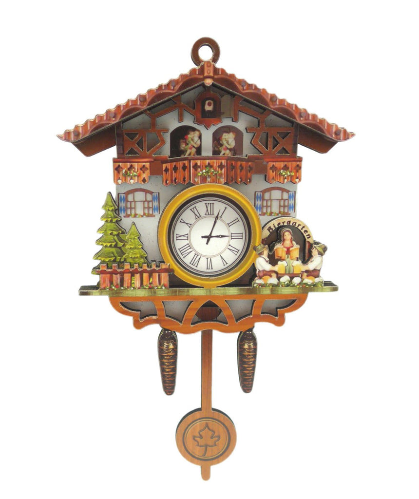 German Bier Garten Cuckoo Clock Deco Kitchen Magnet - Collectibles, CT-520, CT-525, German, Germany, Home & Garden, Kitchen Magnets, Magnet Swing, Magnets-German, Magnets-Refrigerator, New Products, NP Upload, PS-Party Favors, Yr-2017