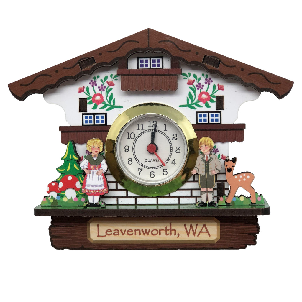 M886L: MAGNET CLOCK: LEAVENWORTH WA