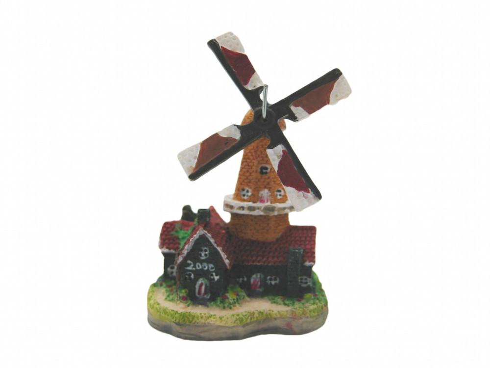Dutch Miniature Windmill Collectible - Collectibles, Delft Blue, Dutch, Figurines, Home & Garden, Miniatures, Miniatures-Dutch, PS-Party Favors, PS-Party Favors Dutch, Windmills