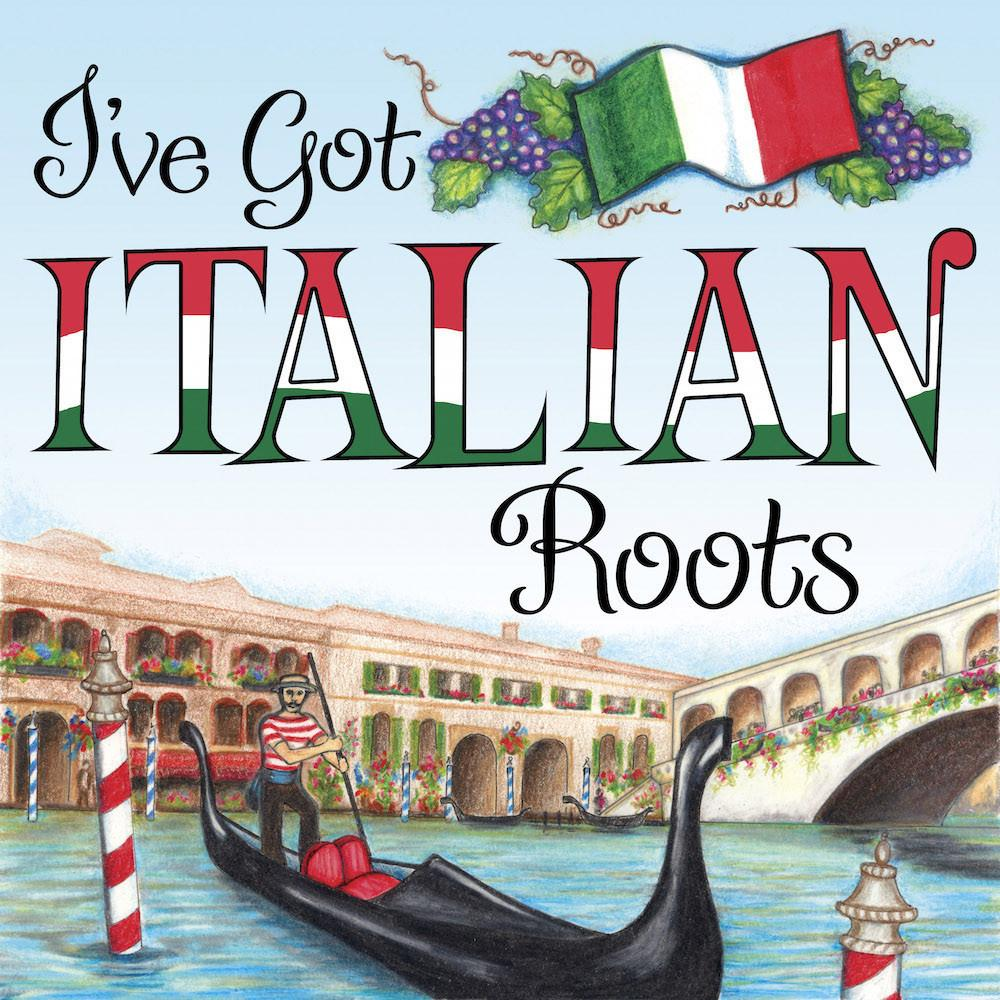 Italian Gift Ideas Italian Roots Magnet Tile - Below $10, Collectibles, CT-225, Home & Garden, Italian, Kitchen Magnets, Magnet Tiles, Magnet Tiles-Italian, Magnets-Refrigerator, PS-Party Favors, SY: Roots Italian