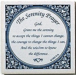 Tile Magnets Quotes: Serenity Prayer - Collectibles, Decorations, General Gift, Home & Garden, Kitchen Magnets, Magnet Tiles, Magnet Tiles-Saying, Magnets-Refrigerator, PS-Party Favors, SY: Serenity Prayer