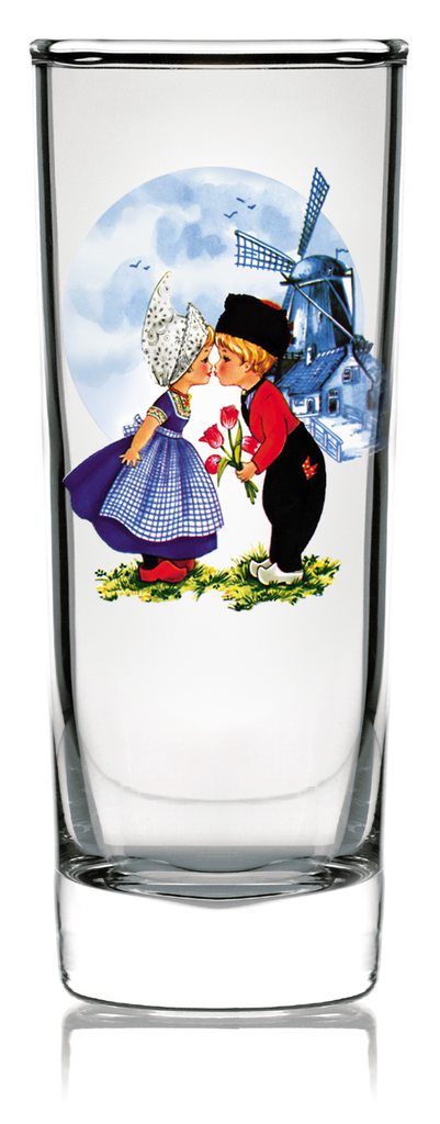 Dutch Kiss Clear Shooter - Barware, Below $10, Collectibles, Drinkware, Dutch, Glass, Home & Garden, Kitchen & Dining, PS-Party Favors Dutch, Shot Glasses, Shots-Glass, Tableware, Top-DTCH-B