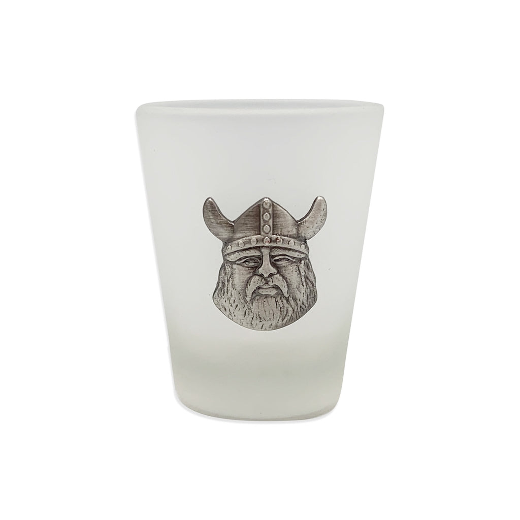 SHOT GLASS: VIKING MEDALLION