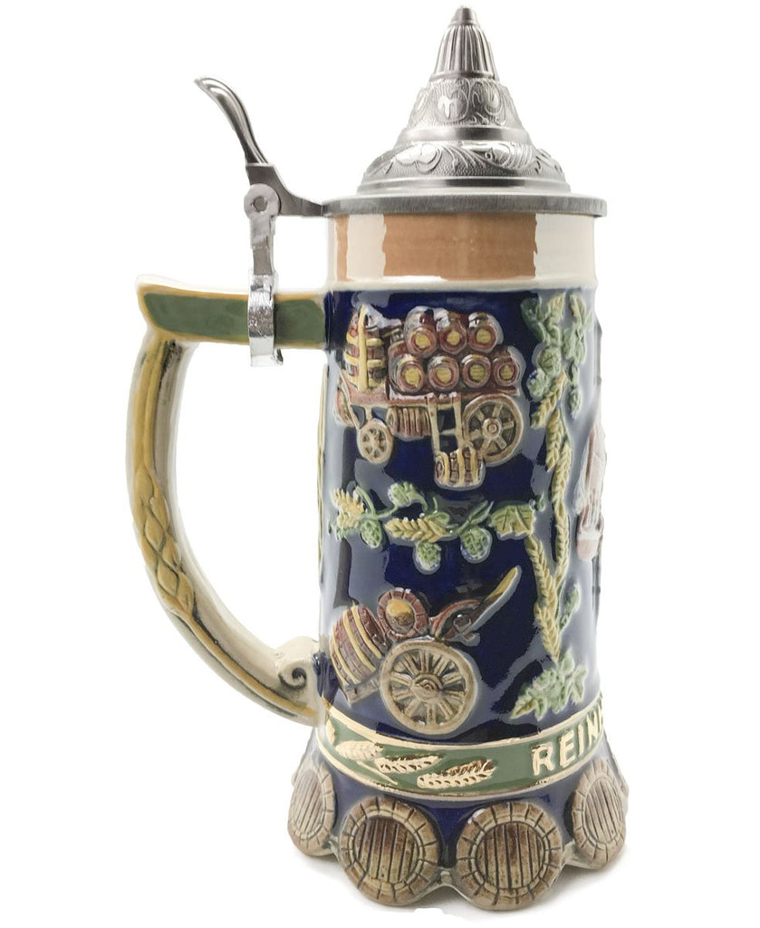 Brewing Time Reinheitsgebot .85L Lidded Stein -3