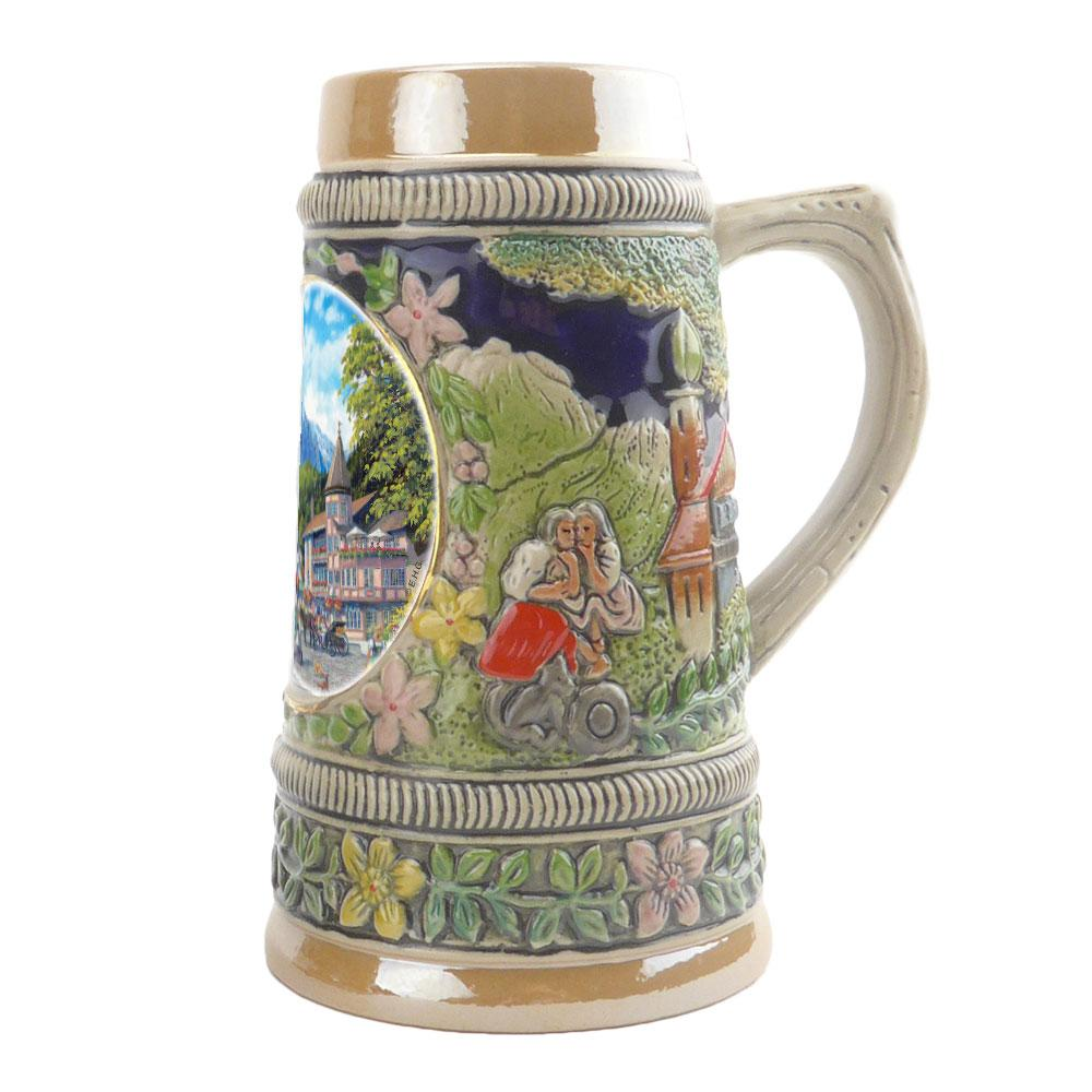 Summer in Germany Ceramic Shot Glass Stein Collection -2