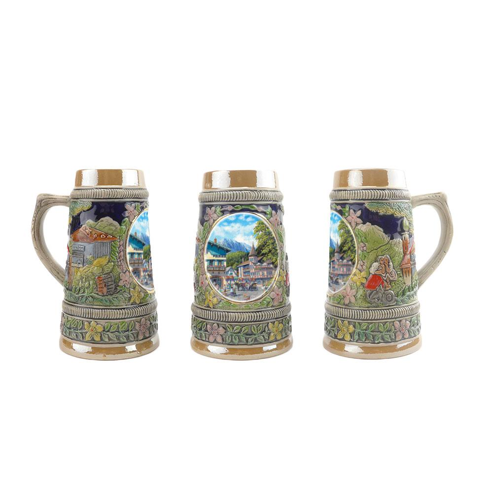 Mini Ludwig's Beer Stein Shot Glass - Alcohol, Barware, Ceramics, Collectibles, Drinkware, German, Germany, Home & Garden, Ludwigs Castle, Miniatures, Multi-Color, PS- Oktoberfest Party Favors, PS-Party Favors, Shot Glasses, Shots-Ceramic, Tableware, Top-GRMN-A - 6