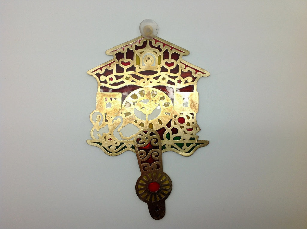 German Cuckoo Clock Sun Catchers - Collectibles, Decorations, German, Germany, Home & Garden, PS-Party Favors German, Sun Catchers - 2