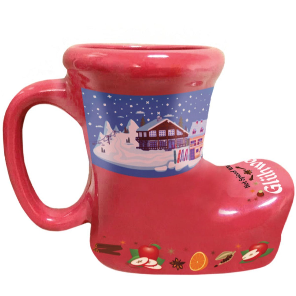 S686: GLUWEIN BOOT: RED