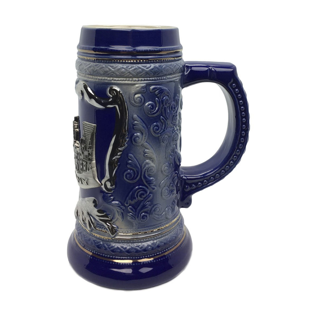 Deluxe Relief .75L Village Medallion Stein -2