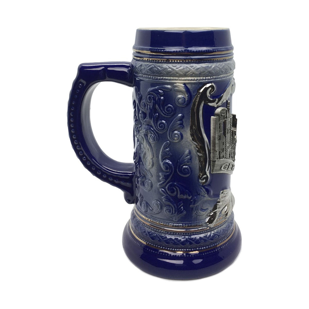 Deluxe Relief .75L Village Medallion Stein -3