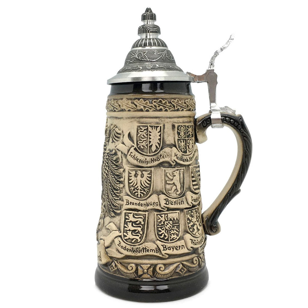 Bundeswappen Seidel .55L Made in Germany Zoller Beer Stein -2