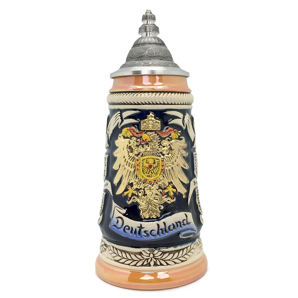 Bundeswappen Seidel .5L Zoller & Born German Beer Stein -1