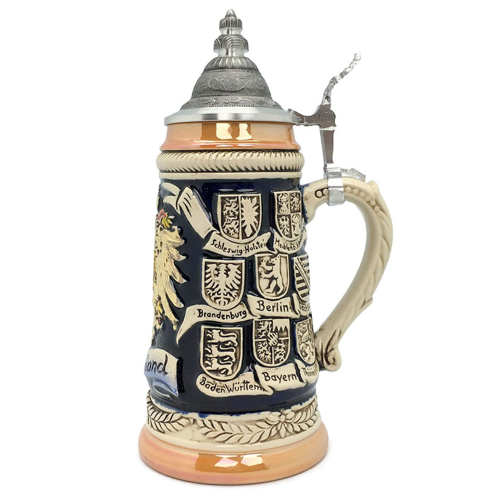 Bundeswappen Seidel .5L Zoller & Born German Beer Stein -2