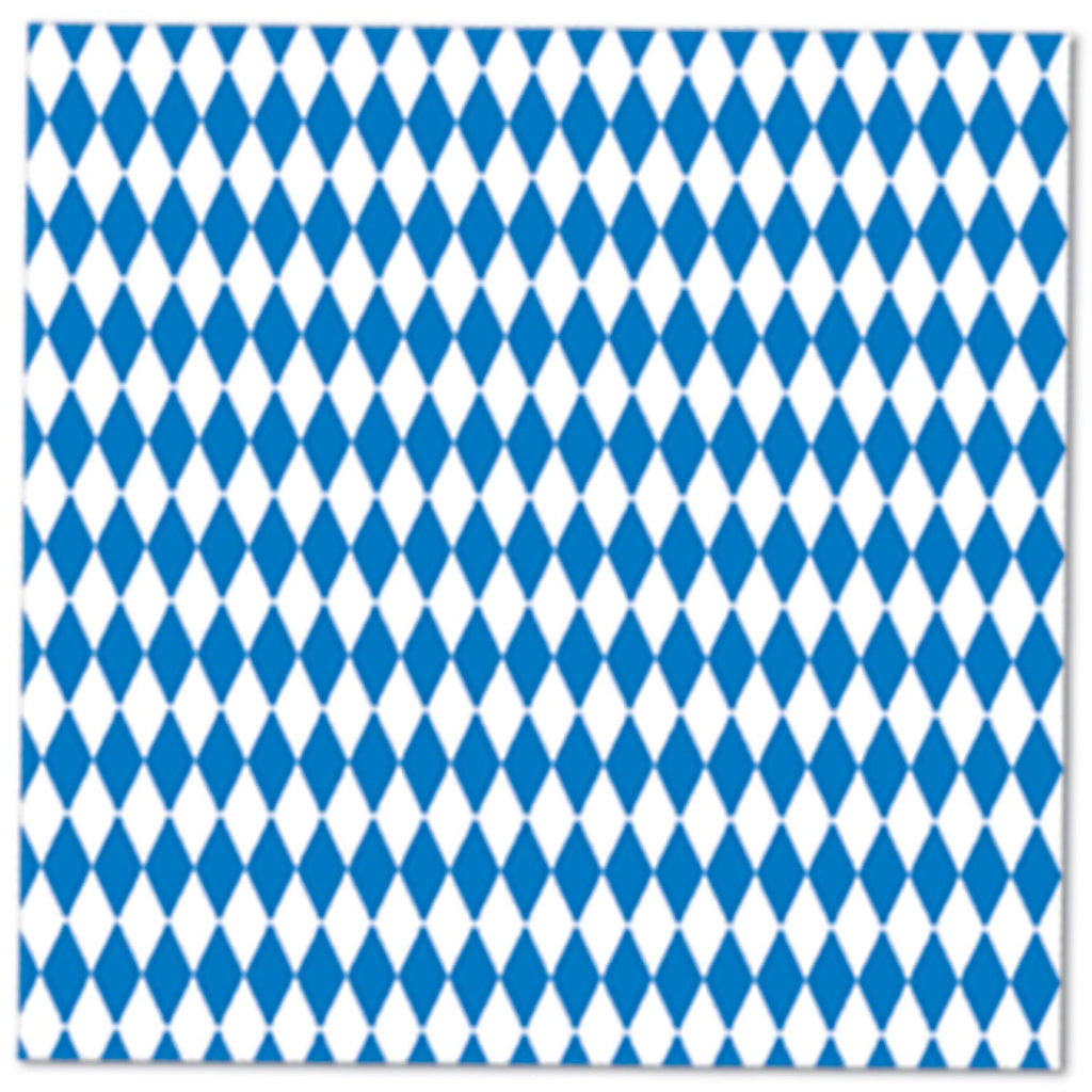 Bavarian Pattern Oktoberfest Decorations: Luncheon Napkins - OktoberfestHaus.com
