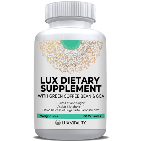 Lux Dietary Supplement with Green Coffee Bean & GCA