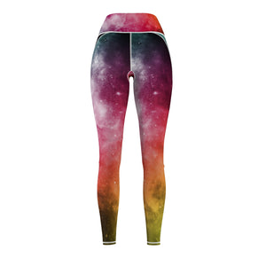 Women's Galaxy Cut & Sew Sport Leggings