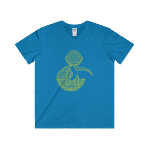 Men's Fitted Thoth V-Neck Short Sleeve Tee