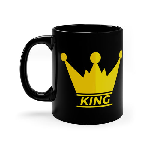 KING Black mug 11oz
