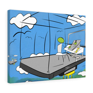 The Observers™ Stretched canvas
