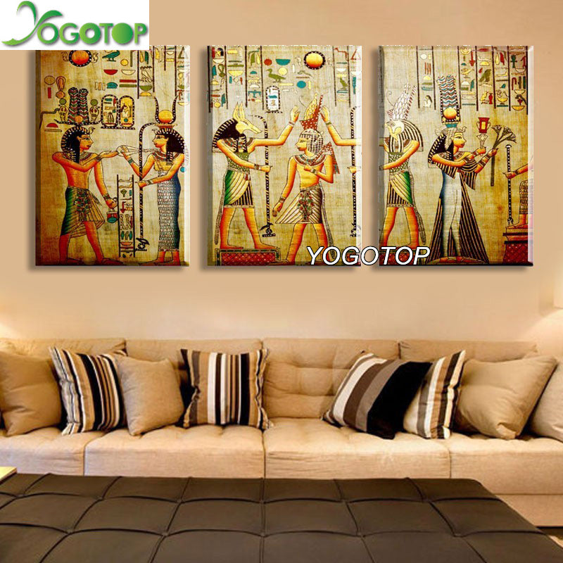 Diamond Painting Cross Stitch Kits 5D Diamond Embroidery egyptians Full Diamond Mosaic
