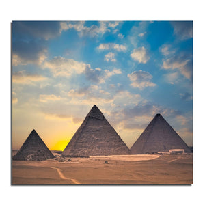 Egyptian pyramids 50X55 3D DIY Diamond Painting 100% full square drill Cross Stitch Embroidery rhinestones Home Decoration