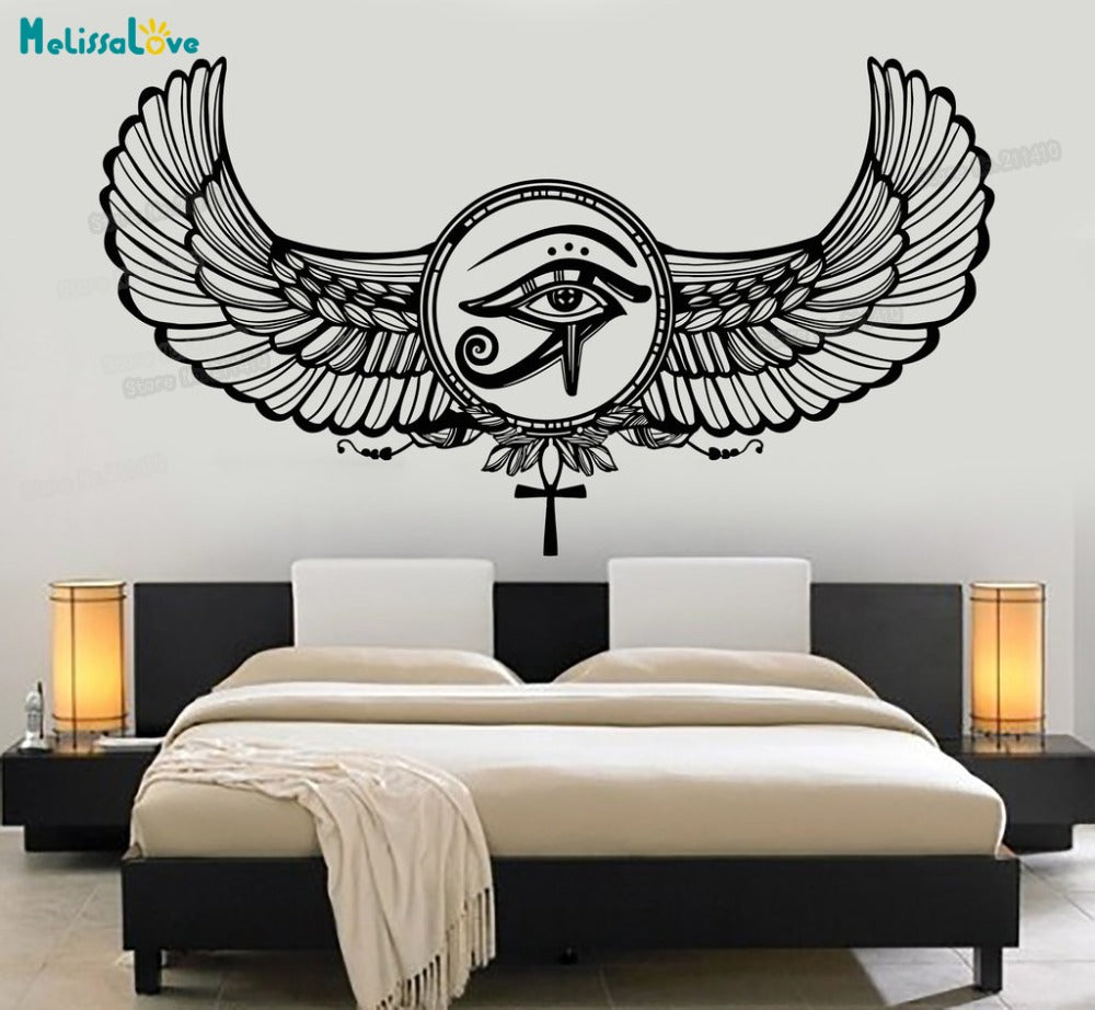 Eye Of Horus Ra Egyptian God Protective Amulet Wall Stickers