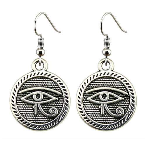 Eye of Ra Charm Dangle Earring