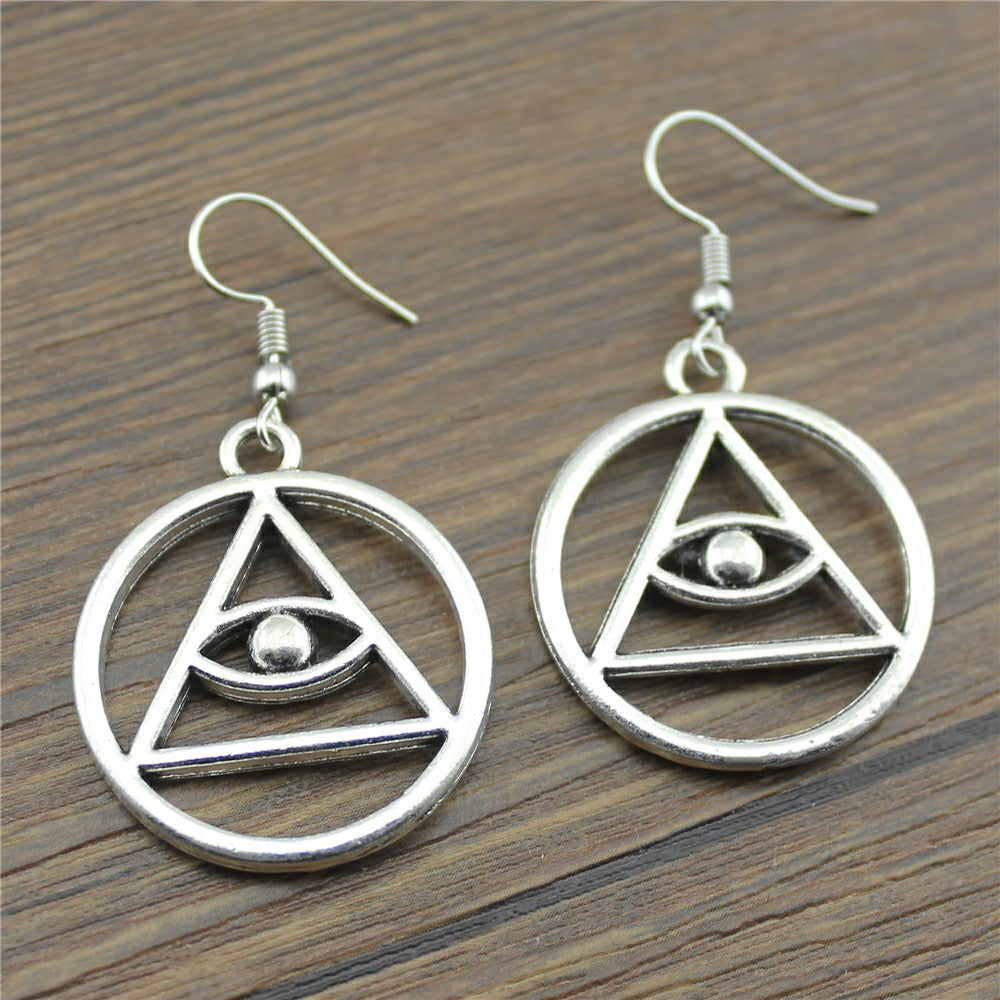 Eye of Ra Eye Drop Earrings Jewelry For Women