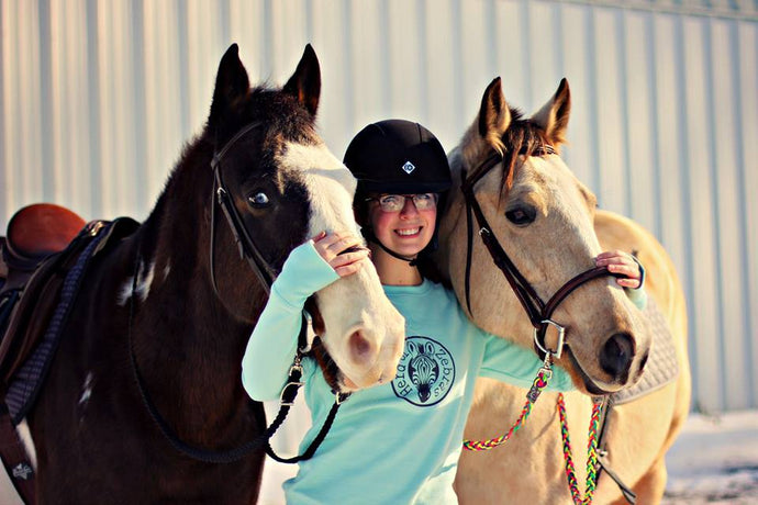 NOT YOUR AVERAGE EQUESTRIAN by Herd Member - Rae Lombino