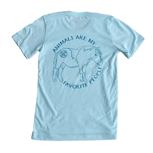 "Load image into Gallery viewer, HofZ | ""Animals are my Favorite People"" Tee"